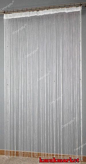 Firana Makaron 300x250 Gruby Z Srebrną Nicią Kmukmarketpl